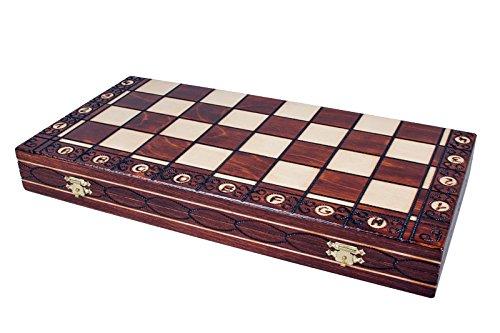 The Zaria - Unique Wood Chess Set, Pieces, Chess Board & Storage 5