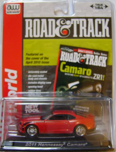 Road & Track, Auto World. 2011 Hennessey Camaro . 1:64 Scale Die Cast.