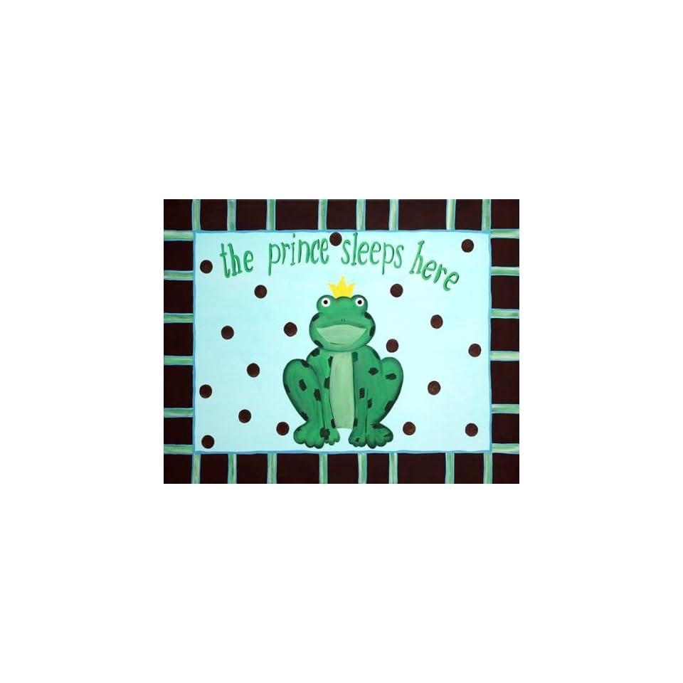 Frog Prince Framed Art