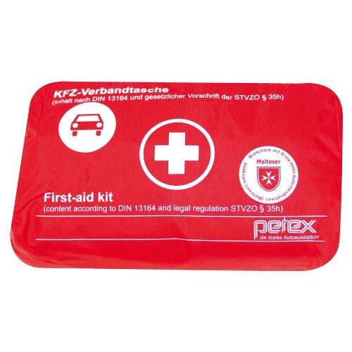 petex 43930012 verbandtasche inhalt nach din 13164 rot kfz diskont zubeh r. Black Bedroom Furniture Sets. Home Design Ideas