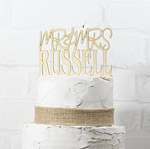 rustic-wedding-cake-topper-or-sign-mr-and-mrs-topper-custom-personalized-with-your-last-name-paintab
