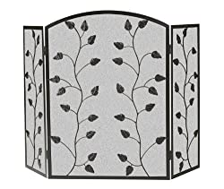 Panacea Products 15932 3-Panel Climbing Vine Fireplace Screen from Panacea Products