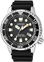 Comprar Citizen-Reloj de pulsera para hombre XL Promaster Marine analógico de cuarzo plástico bn0150-10E