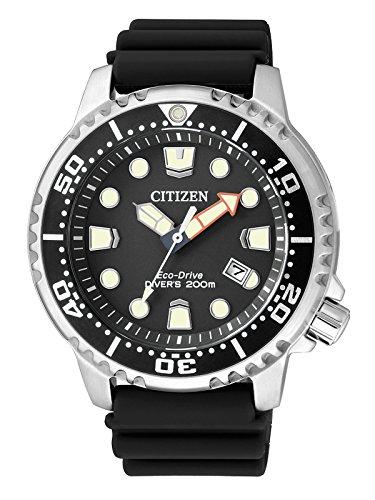 Citizen Orologio da uomo XL Promaster Marine al quarzo plastica BN0150-10E
