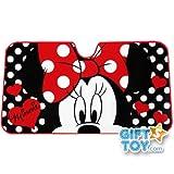 Disney Dot Minnie Mouse Windshield Front Car Sun Shade