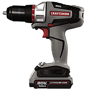 Craftsman -16496 - Bolt-On 20 Volt MAX Lithium Ion Drill/Driver Kit