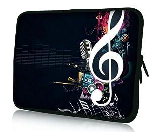 Sidorenko Designer Laptoptasche Notebooktasche in 17,3 Zoll auch in 10,2 Zoll / 13,3 Zoll / 14,2 Zoll / 15,6 Zoll erhältlich Sleeve Neopren Schutzhülle Netbook Tablet Cover Hülle Ipad