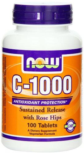 Now Foods C-1000 RH SR Tablets - Pack of 100 Tablets