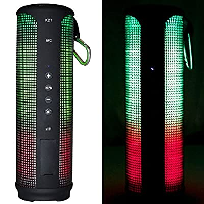 TODAY 50% OFF!!! iZOOM® LED Bluetooth Speaker, Wireless, Portable and Waterproof with Built In Microphone for Speakerphone.