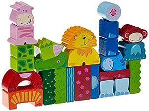 HABA Eeny Meeny Miny Zoo Building Blocks