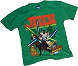 "Star Wars: The Clone Wars -- ""The Jedi Take Command!"" (Glow-In-The-Dark) Juvenile T-Shirt"