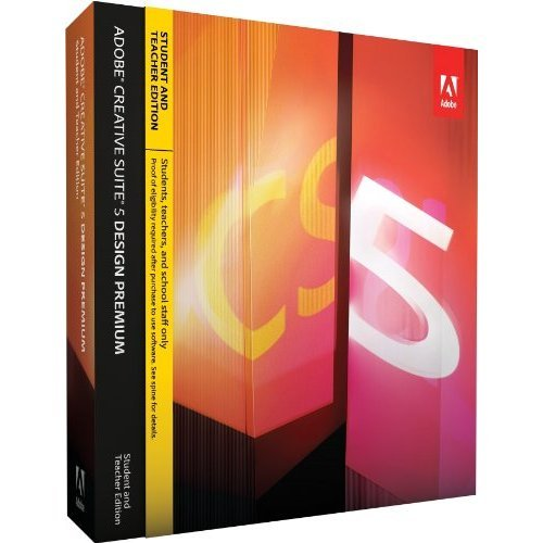 Adobe Creative Suite 5 Design Premium, Student and Teacher Version (Mac)