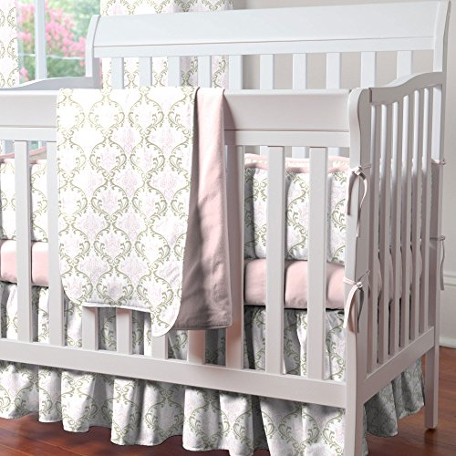 Crib Bed Skirts 4121 front
