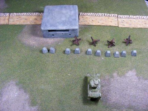 Miniature Terrain - 15mm WWII: Battlefield Fortifications Boxed Set