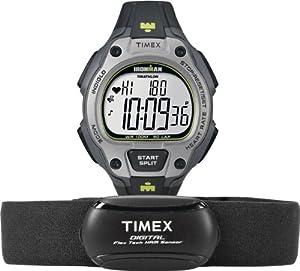 Timex Herren-Armbanduhr XL Ironman Road Trainer Digital Quarz Plastik T5K719