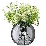 LSA (エルエスエー)G1161-24-689 POLKA(ポルカ) フラワーベース (花器) Lサイズ ブラック