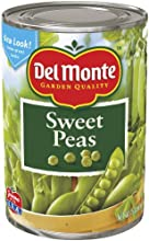 Del Monte Sweet Peas 15-Ounce Pack of 8