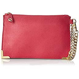 Foley + Corinna Framed Wristlet Clutch, Rose, One Size