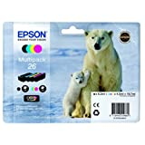 Epson Expression Premium XP-605 (26 / C 13 T 26164010) - original - Inkcartridge multi pack (black, cyan, magenta, yellow) - 19,7ml