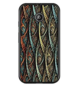 PRINTSWAG PATTERN Designer Back Cover Case for MOTOROLA MOTO E2