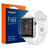 Amazon.co.jp: Apple Watch フィルム, Spigen? シュタインハイル 液晶 保護フィルム フレックス アップル ウォッチ (38mm) 【国内正規品】(2015) (フレックス ・フィルム【SGP11483】): 家電・カメラ