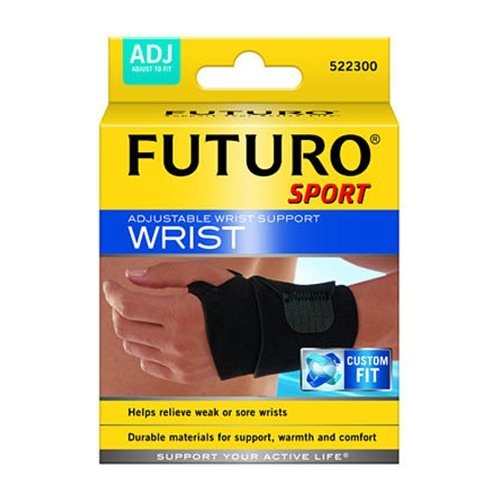 Futuro Sport Reversible and Adjustable Black Wrist Support - 11.4 cm - 24.1 cm