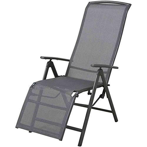 siena garden 431460 atlanta sdraio 72 x 60 x 110 cm l x b x h colore antracite. Black Bedroom Furniture Sets. Home Design Ideas