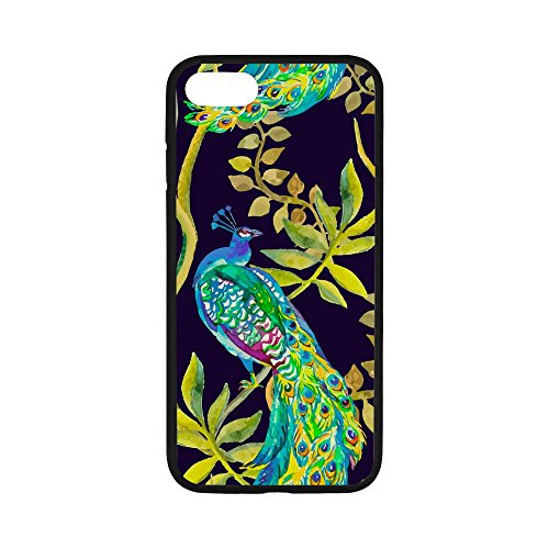 sunseta-watercolor-beautiful-peacock-rubber-case-for-iphone-6-plus-6s-plus-7-plus47