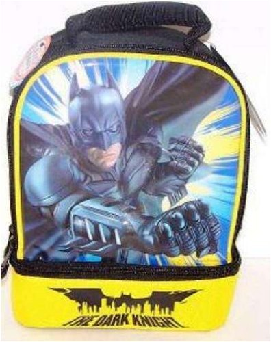 Batman the Dark Knight Dual Compartment Lunchbox