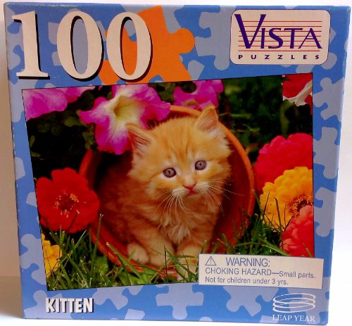 Vista 100 Piece Puzzle - Kitten