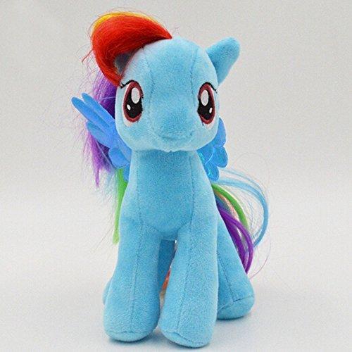 "Adorable 7 Inch 7"" Cute My Little Pony - Rainbow Dash Plush Toy"