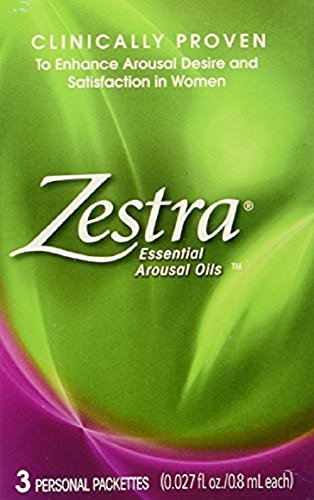 Zestra Essential Arousal Oils - .027 FL. oz. - 3 ct by Zestra (Arousal Oil compare prices)