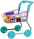 Toy Grocery Shopping Cart Trolley- Includes Play Food