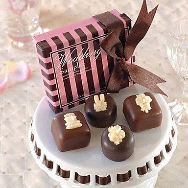 Zclwedding Sampler Chocolate Candles