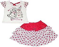 Bisbasta Baby Girl's Dress (fidatorkts2_Red_18 to 24 Months)