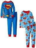 Superman Little Boys' 2 For Cotton Pajama Set
