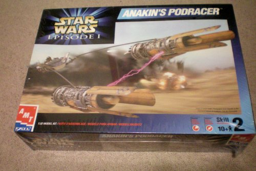Star Wars Episode I -- Anakin's Podracer -- AMT ERTL 1:32 Model Kit ... Boite D'Assemblage/Modelo Para Armar/Modell Bausatz -- 1999 Factory Shrinkwrapped (Star Wars Amt Model Kit compare prices)