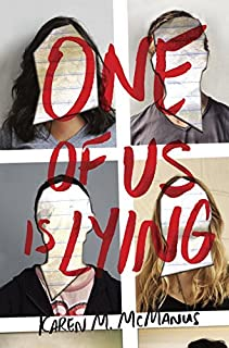 Book Cover: One of Us Is Lying