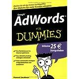 """AdWords f�r Dummies (Fur Dummies)von """"Howie Jacobson"""""""