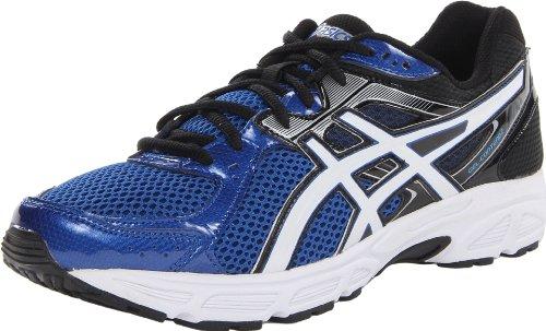 ASICS Men's Gel Contend 2 Running Shoe,Royal/White/Black,9.5 M US