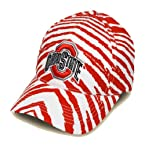 Striped Ohio State Buckeyes Hat