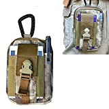 [8 colors selection] Camo MOLLE Velcro Tactical Bag Pack - With Military 1000D Material by Artcraft(TM)