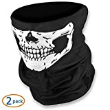 WOVTE® Black Seamless Skull Face Tub...