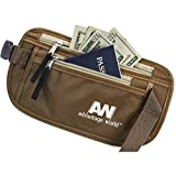 Travel Pouch Hidden Money Belt with Rfid. Paracord Strength for Maximum Security.