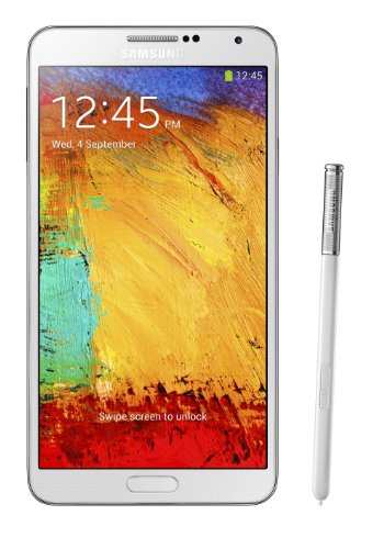 Samsung Galaxy Note 3 N900A 32GB Unlocked GSM 4G LTE Quad-Core Smartphone with 13MP Camera, White (Certified Refurbished) (Quad Core Gsm 4g compare prices)