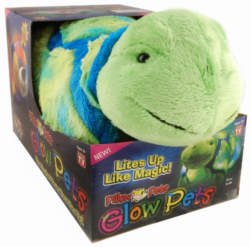 My Pillow Pets Glow Pet Throw Pillow, Turtle