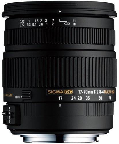 Sigma 17-70 mm F2,8-4,0 DC