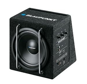 Blaupunkt GTb 8 A Aktiv 20 cm Bassbox-Subwoofer mit Gehäuse (150 Watt)