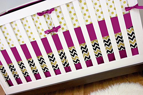 Modified Tot Crib Bedding, Radiant Gold