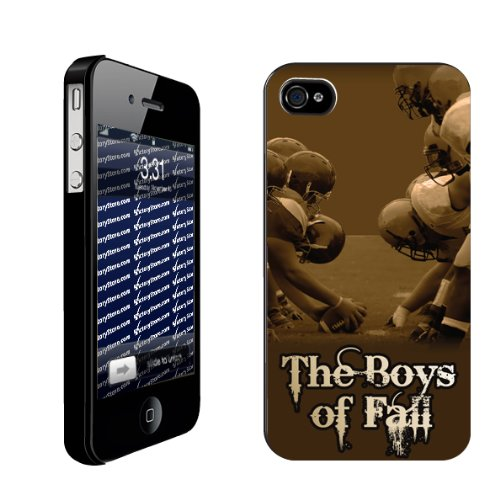 Fall   iPhone Hard Case   BLACK Protective iPhone 4/iPhone 4S Case
